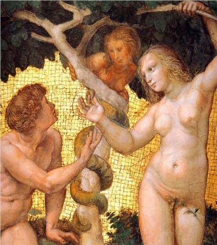 Adam & Eve in the Garden of Eden: Where all the problems started...