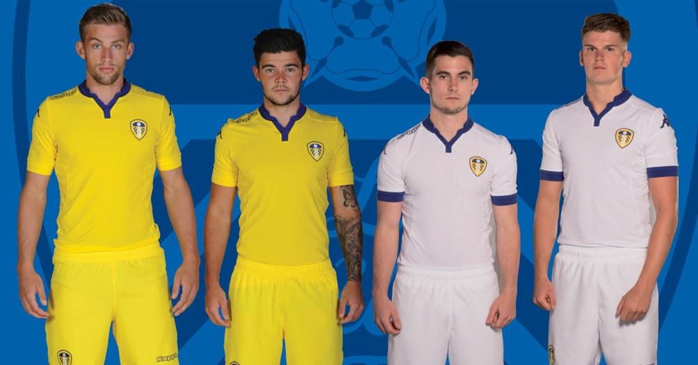 Leeds United: Leeds United 15-16 Home And Away Kits Released