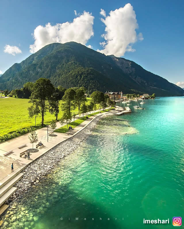 Pertisau, Austria, Tirol, Tyrol, Destinos, Places, Travel Austria, Turismo na Áustria