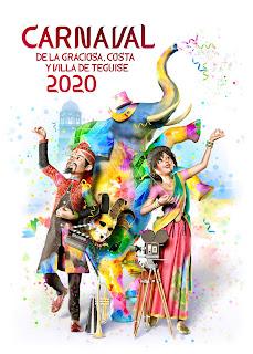 Teguise - Carnaval 2020 - La fantasía de la India - Rubén Lucas