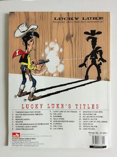 Komik Bekas Lucky Luke Waspada Si Kaki Biru