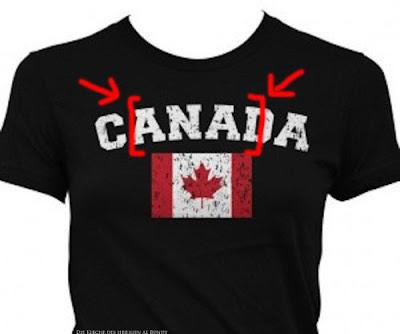 Das versteckte schmutzige Wort in Kanada lustig