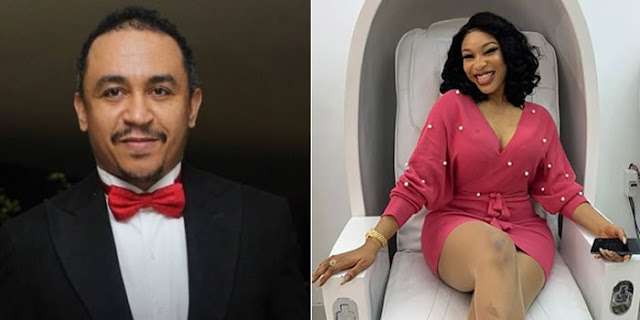 Daddy Freeze Defends Tonto Dikeh's Outbursts