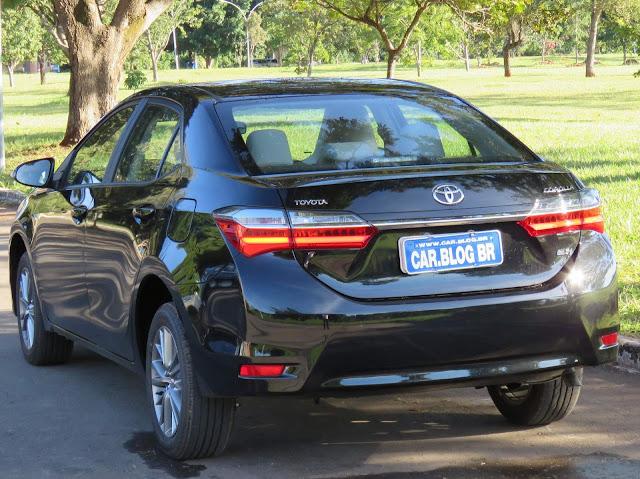 Toyota Corolla 2018 - teste - avaliação