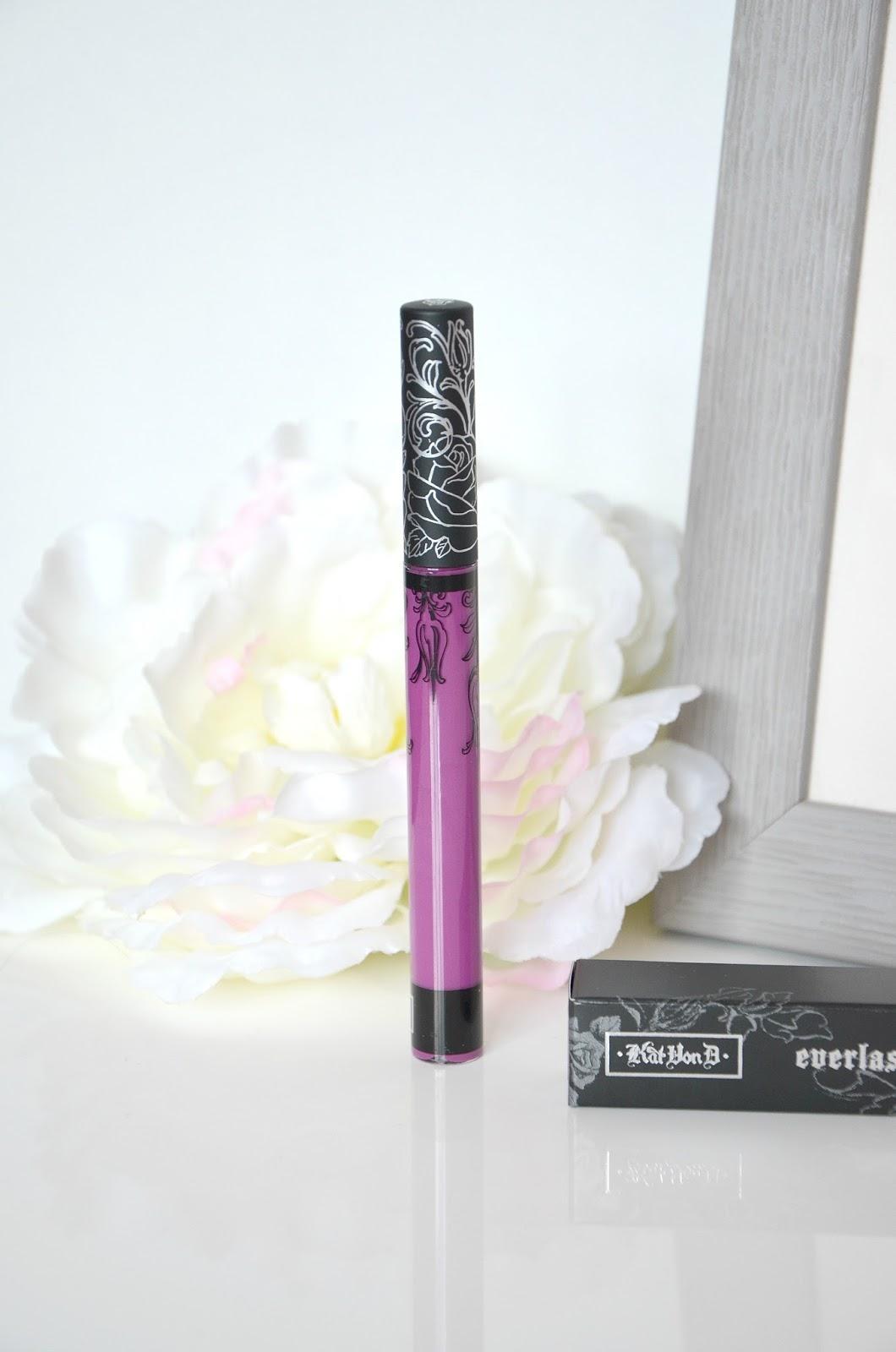 Kat von D Everlasting Liquid matte Lipstick susperia