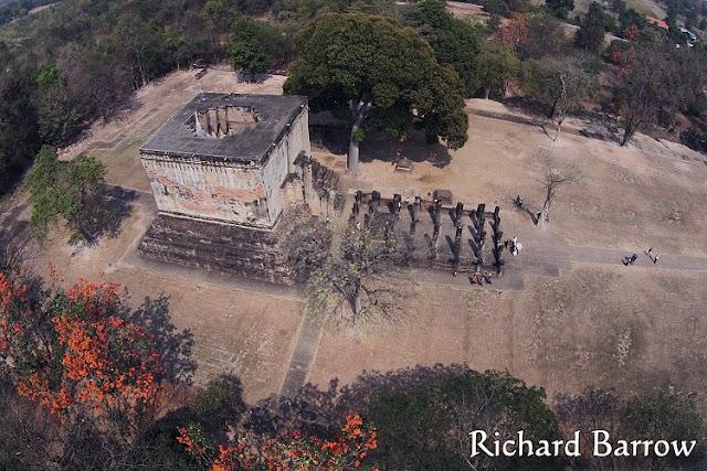Wat Si Chum, Sukhothai, from thailandfromabove