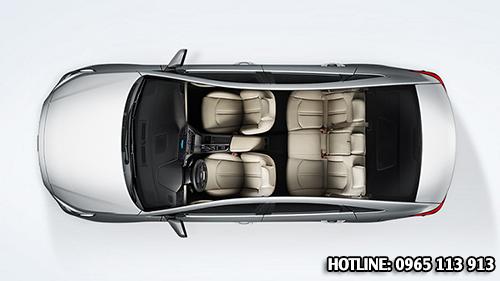 Nội thất Hyundai Sonata Hải Phòng