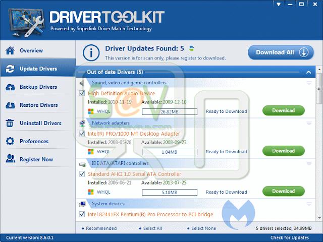 DriverToolkit (Falso optimizador)