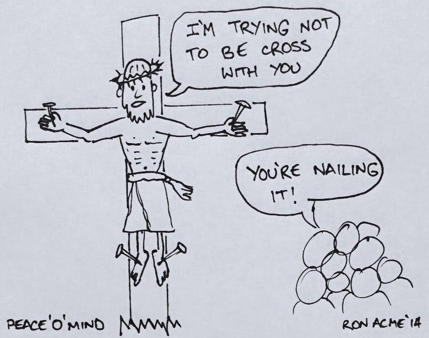 Peace'O'Mind Cartoon