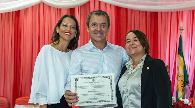 Robério Cunha foi diplomado prefeito de Gentio do Ouro