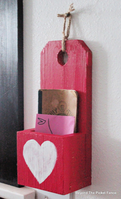 DIY Scrap Wood Valentine Box