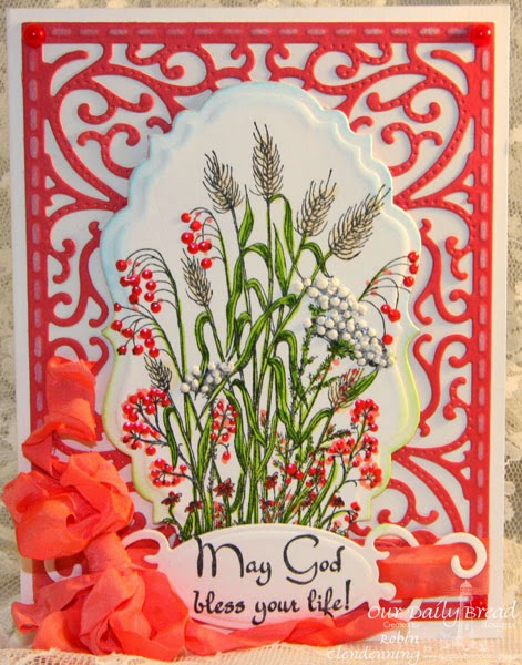 Our Daily Bread Designs, Life is a Gift, Vintage Labels, Vintage Flourish Pattern, Designed by Robin Clendenning