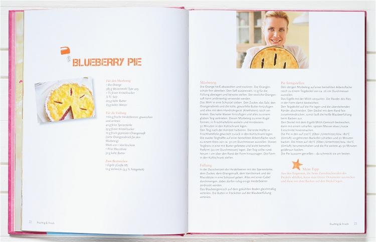 Rezension/Buchvorstellung Kuchen & Süsses von Andrea Schirmaier-Huber 2