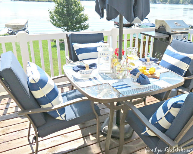 Waterside Summer Home Tour - 2016 - Family and the Lake House - www.familyandthelakehouse.com