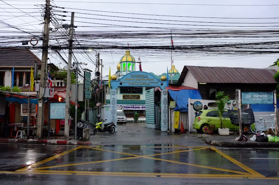 Baan Khrua neighborhood in Bangkok