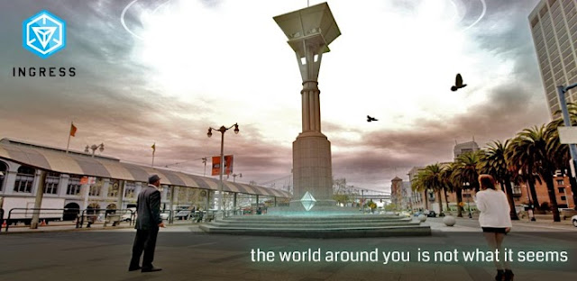 ingress augumented reality game by google