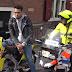 Video – Policias de trancito paran a Chris brown para revisar sus papeles y su motor en amsterdam