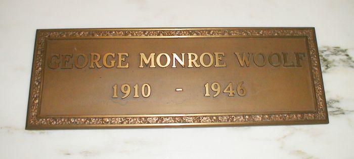 Gatheringgardiners George Monroe Woolf 1910 1946