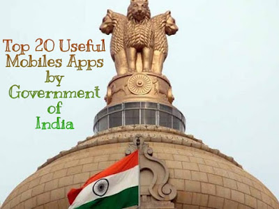 Useful Mobile Apps by Government of India