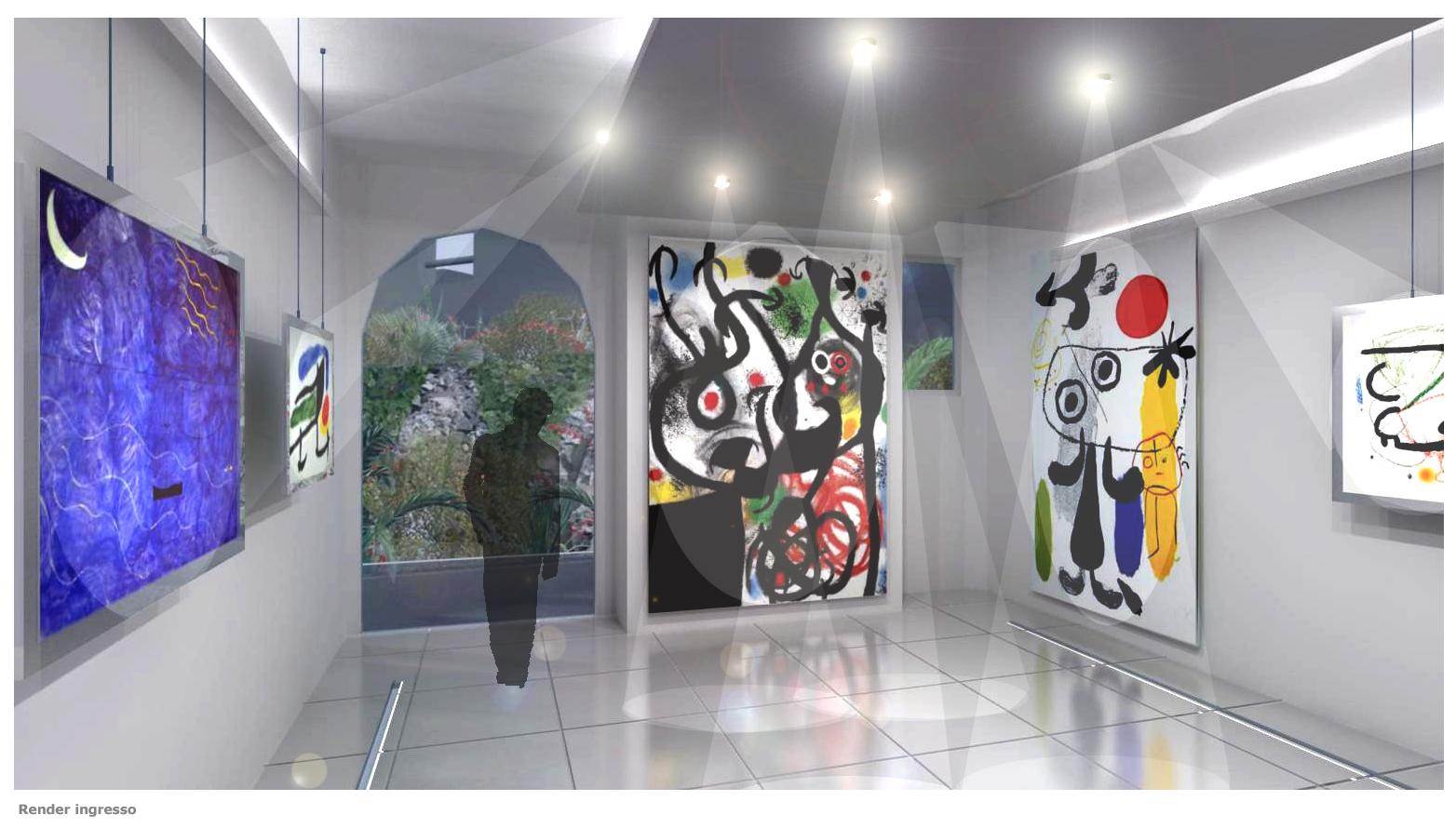 Luca simonetti architetto galleria d 39 arte roma centro for Architetto interni roma