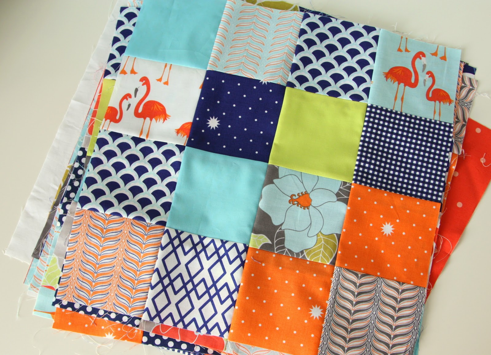 16 Patch Scrappy Quilt Tutorial Diary Of A Quilter A