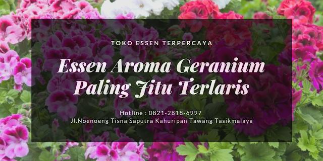 Essen Aroma Geranium Paling Jitu Terlaris - Toko Essen Jitu