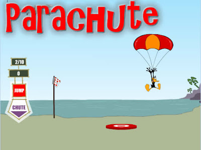 Daffy's parachute jump