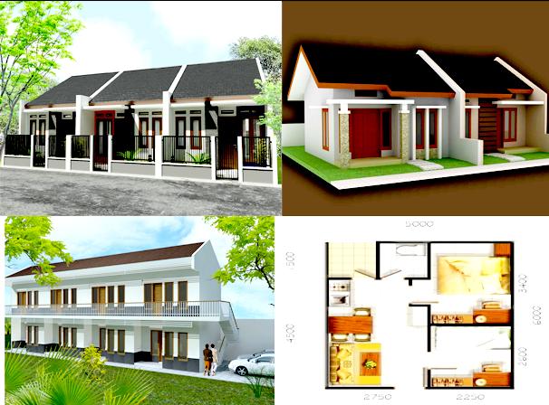 Desain Rumah Kontrakan Sederhana