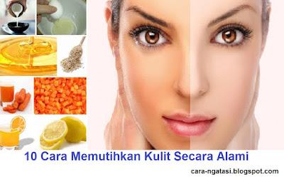 10 cara mencerahkan dan memutihkan kulit wajah - perawatan kecantikan secara alami