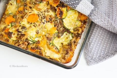 Macaroni Vegetable Casserole