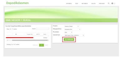 Tarik PTK Online Dapodik Versi 2020 Langkah-Langkah Terbaru