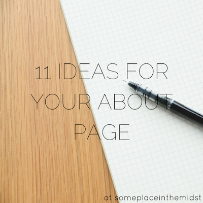 11 Ideas for Your About Page
