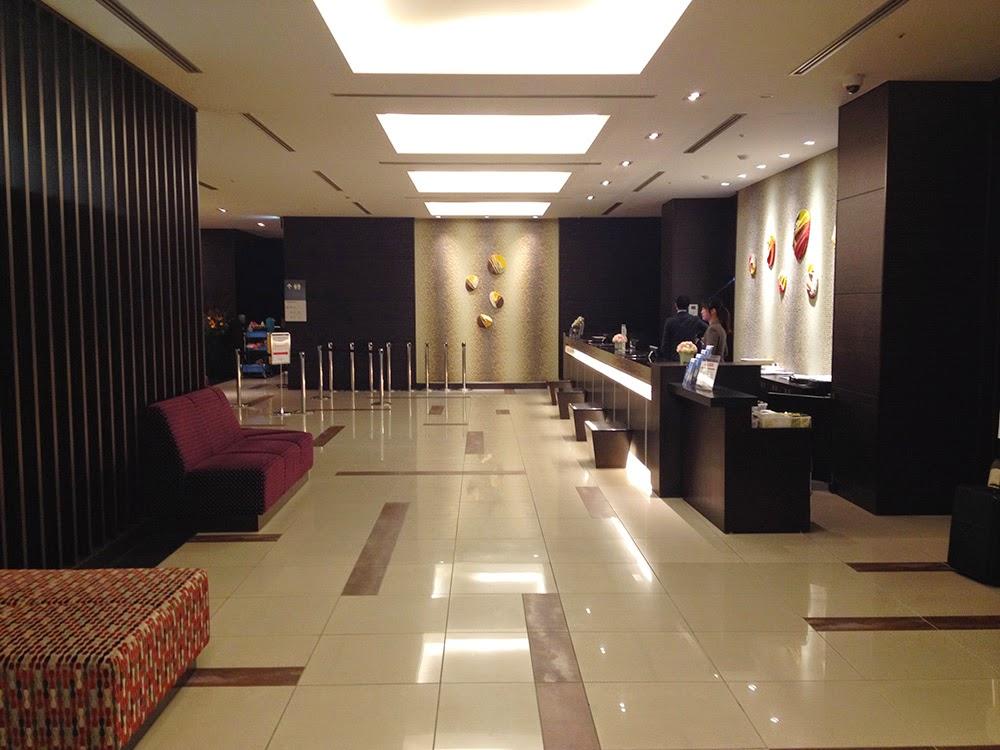 威斯特華麗飯店大阪 Hotel Vista Grande Osaka酒店大堂