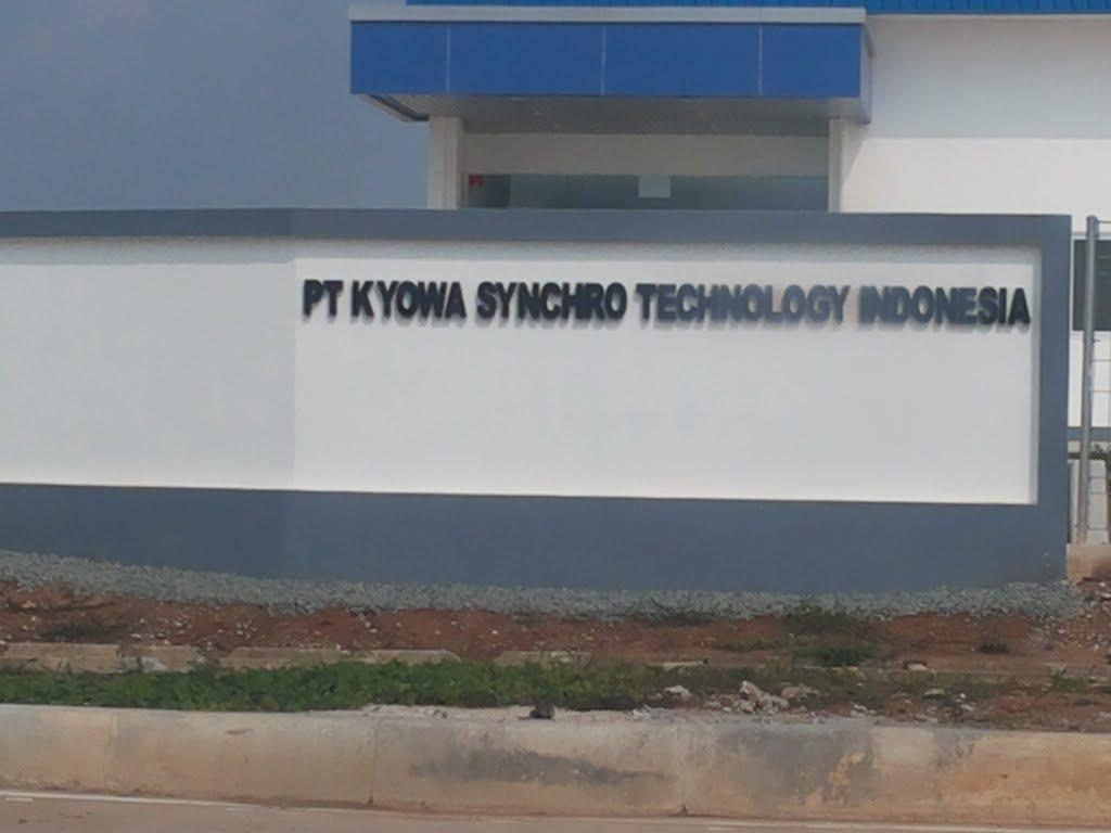 Lowongan kerja Operator Produksi 2018 PT Kyowa Synchro Technology Indonesia