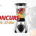 Castiga un blender perfect in pregatirea smoothie-urilor delicioase