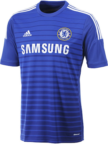 This is the new Chelsea 2014-15 Home Kit made by Adidas. 1a8dc9744