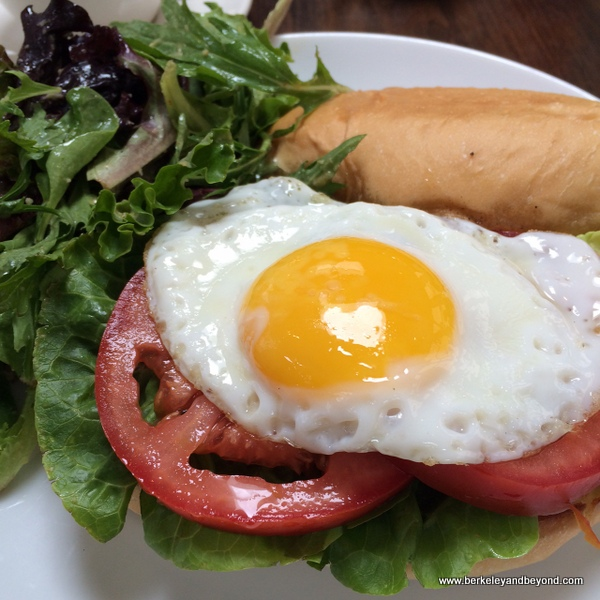 BLT with egg at Palm House in San Francisco