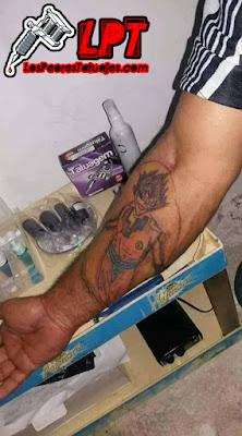 El peor tatuaje de Dragon Ball