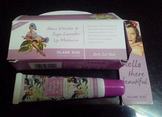 Island Kiss Alma Vanilla & Ignes Lavender Lip Moisturizer