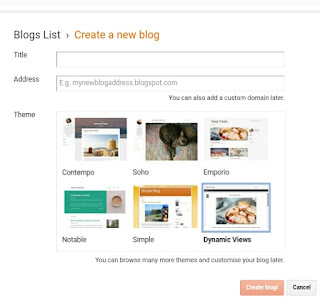 blogger me easily , free me website kese banaye step by step