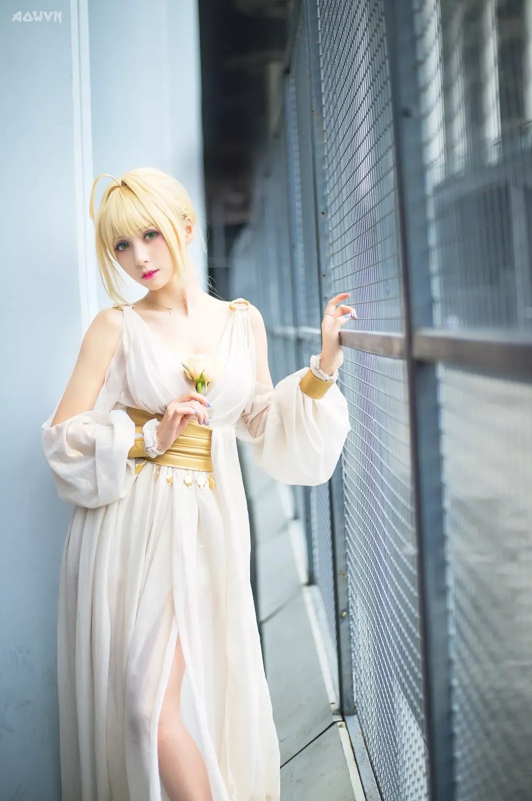AowVN.org minz%2B%252816%2529 - [ Cosplay ] Nero - Saber anime Fate by Xia Mei Jiang tuyệt đẹp | AowVN Wallpapers