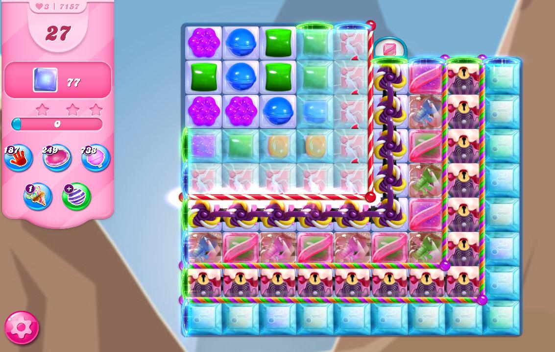Candy Crush Saga level 7157