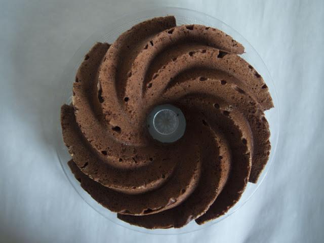 bizcocho de chocolate y castañas