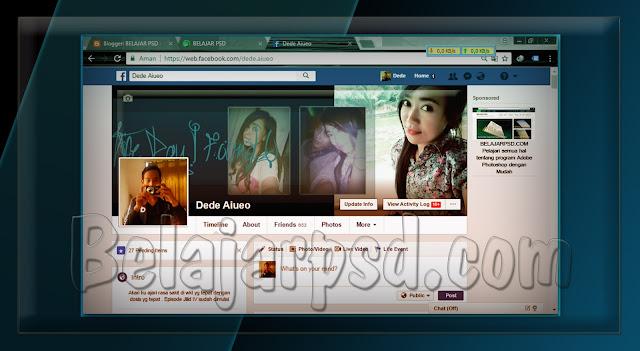 Membuat Foto Samapul atau Cover Facebook