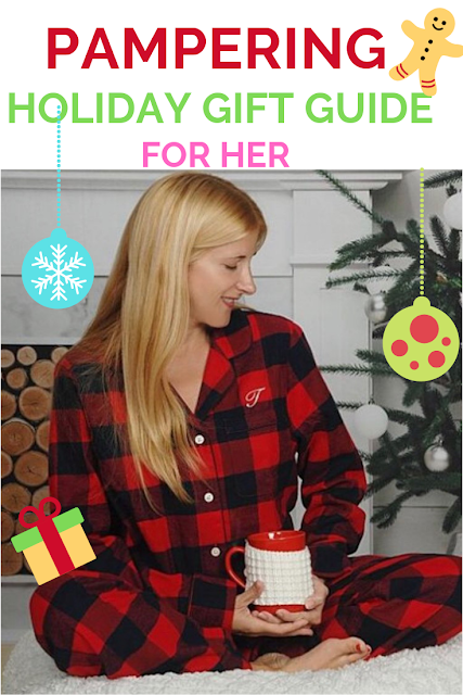 Pampering Holiday Gift Guide for Her - affordable ideas and stocking stuffers under $30