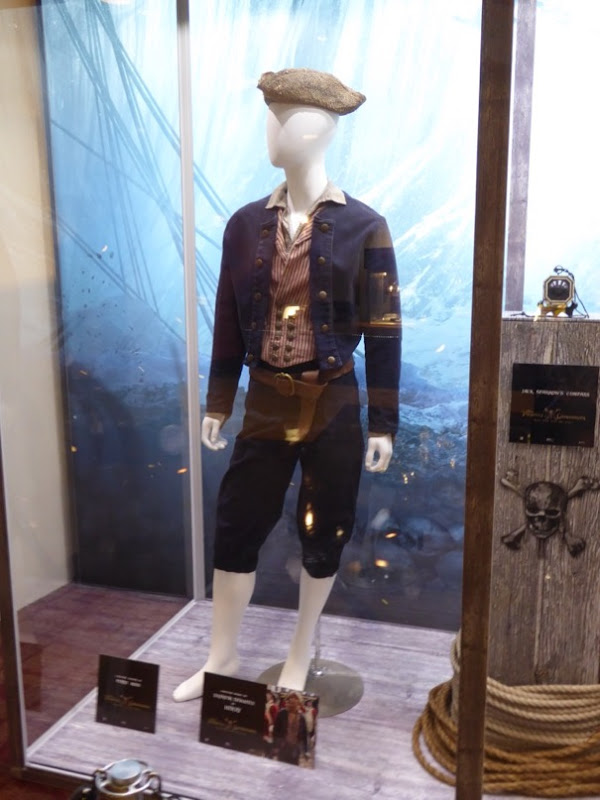 Pirates of Caribbean:Dead Men Tell No Tales Henry Turner costume