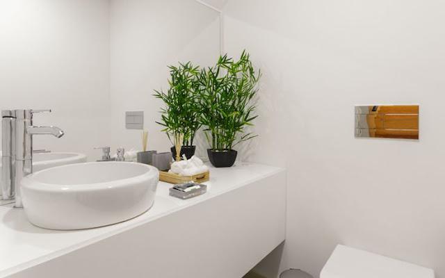 μπάνιο χωρίς μικρόβια