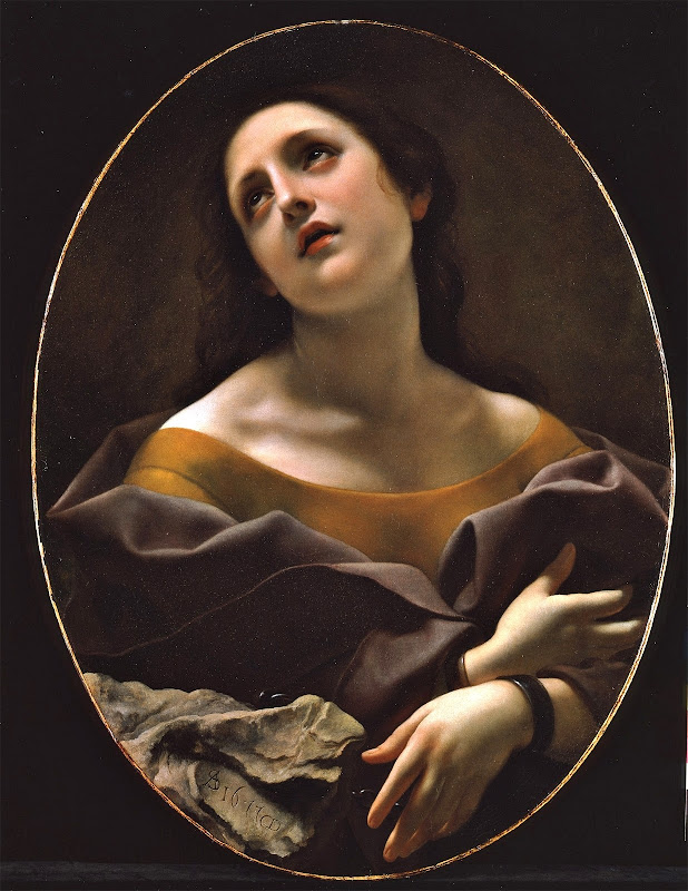 Carlo Dolci - Allegory of Patience (c.1677)