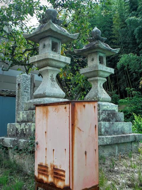 石燈籠(天保年間)