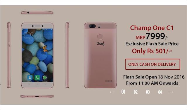 ChampOne C1 SmartPhone Online Registrations